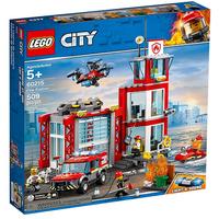 Lego City Feuerwehr-Station 60215