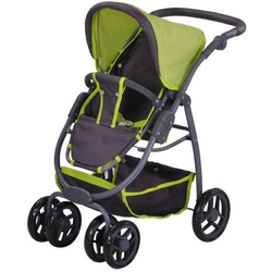 Knorrtoys® Puppenwagen Coco - tec green, 2-in-1