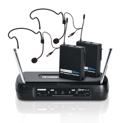 LD Systems ECO 2X2 BPH 2 Funkmikrofonset mit 2 Headset