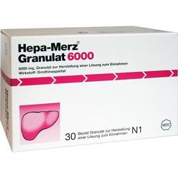 Hepa Merz Granulat 6000 BTL