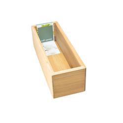 HTI-Living Aufbewahrungsbox Aufbewahrungsbox Bambus, Aufbewahrungsbox 23 cm x 7 cm x 8 cm