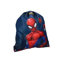 Vadobag Turnbeutel Spider-Man Kinder Turnbeutel mit Motiv, 44 x 37 cm, navy