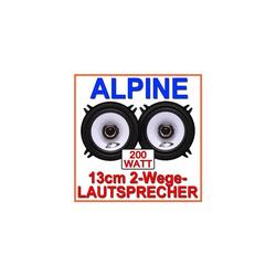 ALPINE Multiroom-Lautsprecher (Alpine SXE-1325s - Koax-System 13cm Lautsprecher)