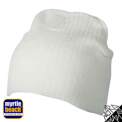 Rib Beanie | Myrtle Beach off-white