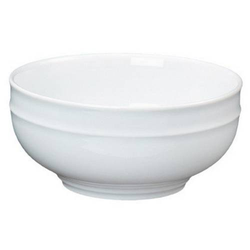 Salatschüssel ALICE, Durchmesser: 19 cm, Höhe: 9 cm, Inhalt: 1,7 ltr., uni weiß