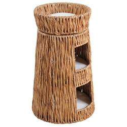 SILVIO design Tierkorb Korbturm Wasserhyazinthe