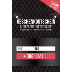 150  Gutschein per Mail