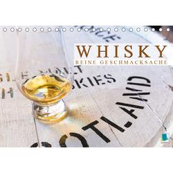 Whisky: Reine Geschmacksache (Tischkalender 2021 DIN A5 quer)