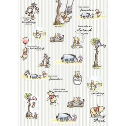 Vlies Fototapete - Disney Winnie Pooh, 200x280 cm