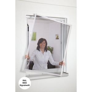 hecht international Insektenschutz-Fenster Basic 100 cm x 120 cm