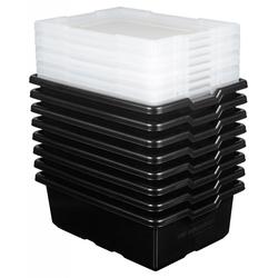LEGO Aufbewahrungsboxen Medium (8er Set) - 5498 -