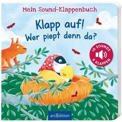 Sound-Klappenbuch: Klapp auf! Wer piep