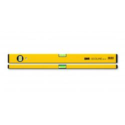 Wasserwaage Construct Länge 40cm Aluminium gelb Messgenauigkeit 1mm/m von BMI