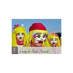 Cortège der Basler Fasnacht (Tischkalender 2021 DIN A5 quer)