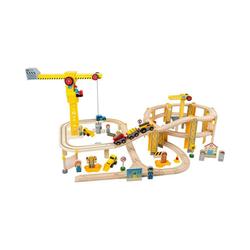 Small Foot Spielzeug-Eisenbahn Eisenbahnset Baustelle