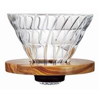 "Hario Handfilter V60 ""Coffee Dripper"" Gr.02, Glas, braun"