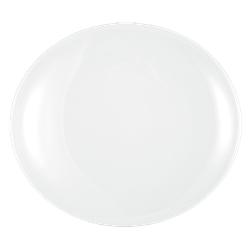 Modern Life Teller oval 34 cm weiß