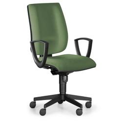 Bürostuhl figo, synchronmechanik, grün