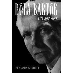 Béla Bartók als Buch von Benjamin Suchoff