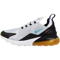 Nike Men's Air Max 270 pure platinum/black/team red/oracle aqua 42