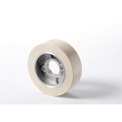 Haffner / Samco Vorschubrolle Gummi 120 x 50 mm weiss für Vorschubapparate