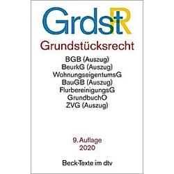Grundstücksrecht (GrundstR) - Buch