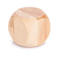 Würfel aus Holz, 8 x 8 x 8 cm