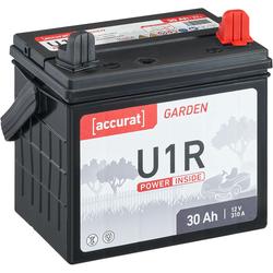 Accurat Garden U1R 12V Rasentraktor-Batterie 30Ah