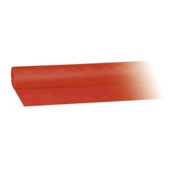 Damasttischdecke Tischtuch aus Papier, gerollt 1,20m x  8m, rot