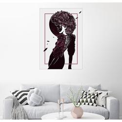 Posterlounge Wandbild, Moretta oder Muta Mask 60 cm x 80 cm
