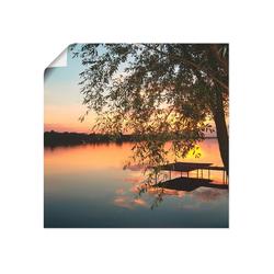 Artland Wandbild Landschaftsfotografie, Gewässer (1 Stück) 50 cm x 50 cm