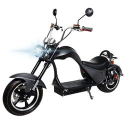 eFlux E-Bike Chopper One Elektroroller, 2000 W, E-Scooter mit Straßenzulassung