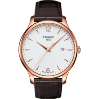 Tissot Tradition Leder 40 mm T063.610.36.037.00