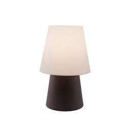 8 seasons design Außen-Stehlampe No 1 60cm Stehlampe E27 weiß