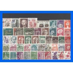 50 verschiedene Briefmarken Berlin