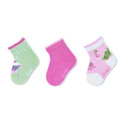 Sterntaler Baby-Söckchen 3er-Pack Meerestiere rosa
