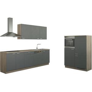 Küchenzeile ohne Elektrogeräten  Chemnitz ¦ grau