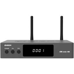 EDISION OS MIO 4K S2X + T2/C DVB-S2/T/T2/C Kombo-Receiver WLAN-fähig, Ethernet-Anschluss, Linux, Au