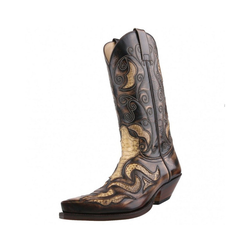 Sendra Boots 7428-Denver-Canela Stiefel EUR 46