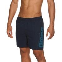 Arena Fundamentals Logo Badeshorts Herren für Pool und Meer, Schwimmshorts aus Weichem und Schnelltrocknendem Material, Badehose mit Netz-Innenslip