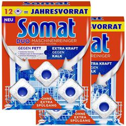 Somat Duo Maschinenreiniger Tabs Geschirrspül Reiniger 2x12 Stück Spülmittel