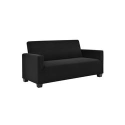 Sofahusse, neu.haus, 120-190cm Schwarz Sofabezug 2-Sitzer schwarz