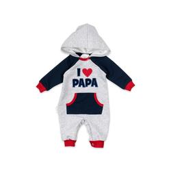 Baby Sweets Overall Overall I love Mama & Papa (1-tlg) 68 (3-6 Monate)