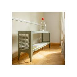 WYE Lowboard Lowboard, chamfer, nachhaltiges Möbeldesign grün