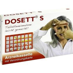 DOSETT S-Arzneikassette rot