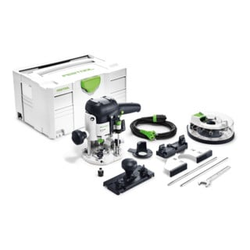 Festool Oberfräse OF 1010 EBQ-Plus + Box-OF-S 8/10x HW