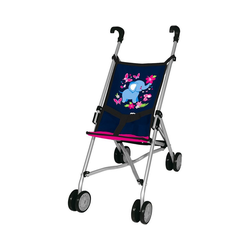 MyToys-COLLECTION Puppenwagen myToys-Collection Puppen-Buggy, blau/pink