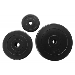 Hantelscheiben Plastik Ø 30 mm (Gewicht: 0.5 kg)