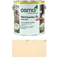 OSMO Hartwachs-Öl farbig 3040 Weiss   Pinsel gratis zur Bestellung Große: 2,5l