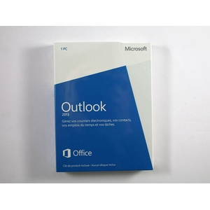 Microsoft Outlook 2013 Vollversion, neue Retail-Box mit Lizenz und CD-Key